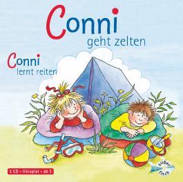 Conni geht zelten / Conni lernt reiten