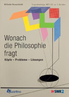 Wonach die Philosophie fragt