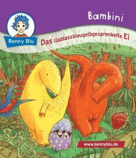 Bambini Das lilablassblaugelbgesprenkelte Ei