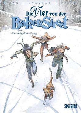Die Vier von der Baker Street, Band 3. Die Nachtigall von Stepney