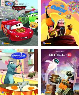 Mini-Bücher 24er-Display Disney Filmhits 1-4