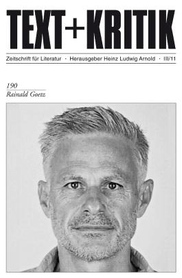 Rainald Goetz