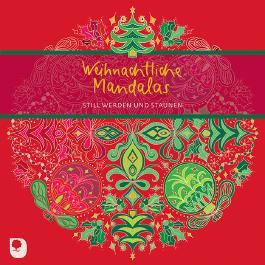 Weihnachtliche Mandalas