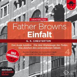 Father Browns Einfalt, Audio-CD. Vol.4
