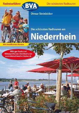 Radreiseführer BVA Die schönsten Radtouren am Niederrhein mit detaillierten Karten und GPS-Tracks Download