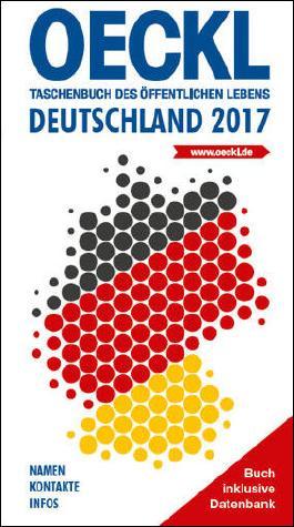 OECKL. Taschenbuch des Öffentlichen Lebens – Deutschland 2017 – Buchausgabe