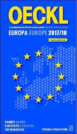 OECKL. Taschenbuch des Öffentlichen Lebens – Europa 2017/18 - Buchausgabe