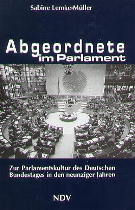 Abgeordnete im Parlament