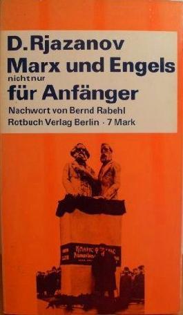 Marx und Engels nicht nur für Anfänger