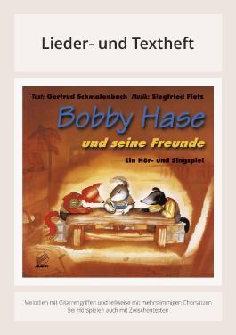 Bobby Hase und seine Freunde - Lieder- & Textheft