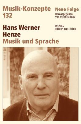 Hans Werner Henze, Musik und Sprache