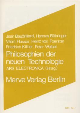 Philosophien der neuen Technologie