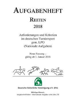 Aufgabenheft Reiten 2018