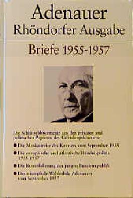 Adenauer Briefe 1955-1957 Ln-Rhoendorfer Govi Migration