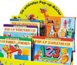 Bruno Bär und Beppo Bär Pop-up-Bücher