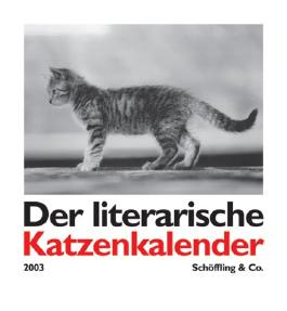 Der literarische Katzenkalender 2003