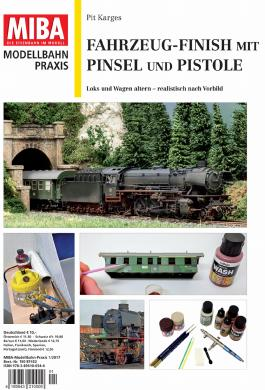 Fahrzeug-Finish mit Pinsel und Pistole