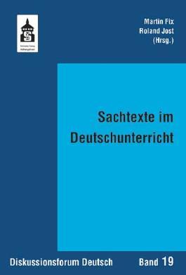 Sachtexte im Deutschunterricht