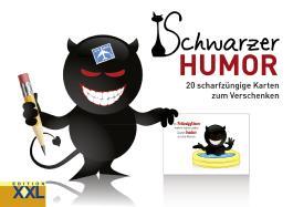 Schwarzer Humor – Geschenkkartenbuch