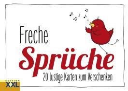 Freche Sprüche – Geschenkkartenbuch