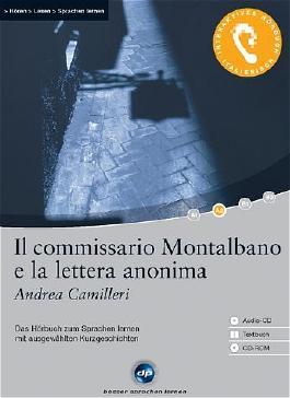 Il commissario Montalbano e la lettera anonima - Interaktives Hörbuch Italienisch