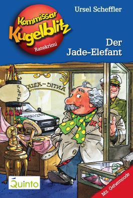 Kommissar Kugelblitz 11. Der Jade-Elefant: Kommissar Kugelblitz Ratekrimis