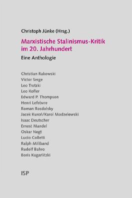 Marxistische Stalinismus-Kritik im 20. Jahrhundert
