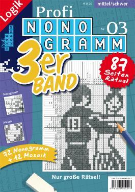 Profi-Nonogramm 3er-Band Nr. 3