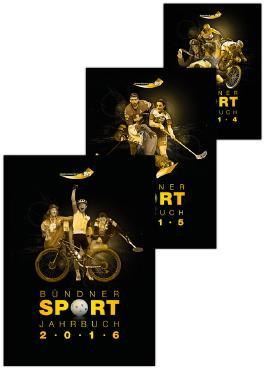 Kombiangebot Bündner Sport Jahrbuch 2014, 2015 und Bündner Sportjahrbuch 2016