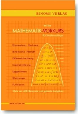 Mathematik-Vorkurs für Studienanfänger