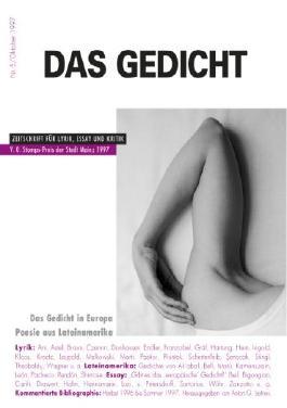 Das Gedicht. Zeitschrift /Jahrbuch für Lyrik, Essay und Kritik / Das Gedicht. Zeitschrift /Jahrbuch für Lyrik, Essay und Kritik