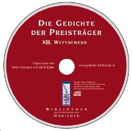 Die Gedichte der Preisträger - XIII. Wettbewerb
