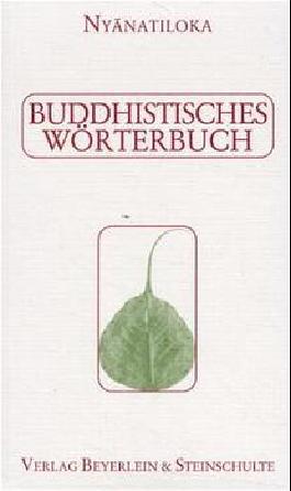 Buddhistisches Wörterbuch