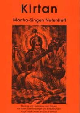 Kirtan Mantra-Singen Notenheft