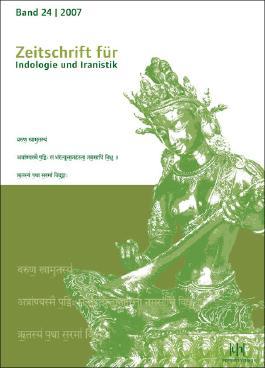 Studien zur Indologie und Iranistik