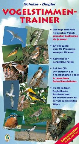 Vogelstimmen-Trainer. Schnellsystem in Bild und Ton als Buch mit Audio-CD