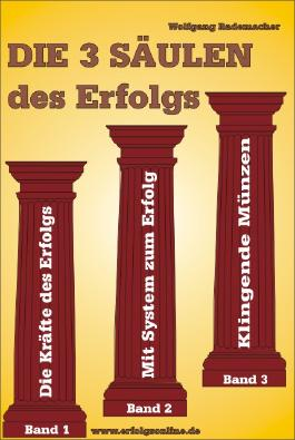 Die 3 Säulen des Erfolgs