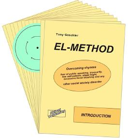 EL-METHOD. Overcoming shyness, fear of public speaking, insecurity, low self-esteem, stage fright, excessive facial blushing and any other social anxiety disorder.