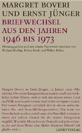 Briefwechsel aus den Jahren 1946 bis 1973