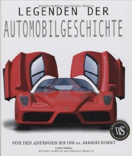 Legenden der Automobilgeschichte (Sachbuch)