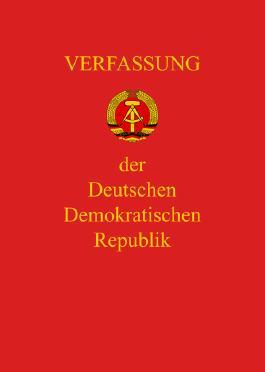 Verfassung der DDR