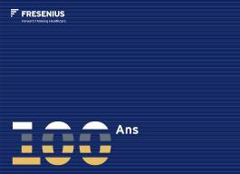 Fresenius 100 Ans