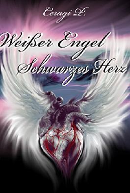 Weißer Engel Schwarzes Herz