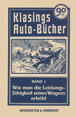 Klasings Auto-Bücher Band 3