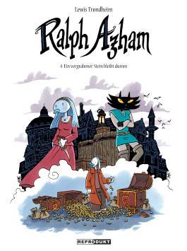 Ralph Azham 4 - Ein vergrabener Stein bleibt dumm