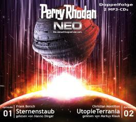 Perry Rhodan NEO MP3 Doppel-CD Folgen 01 + 02