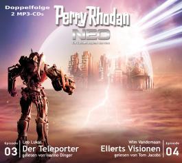 Perry Rhodan NEO MP3 Doppel-CD Folgen 03 + 04