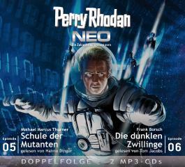 Perry Rhodan NEO MP3 Doppel-CD Folgen 05 + 06