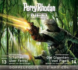 Perry Rhodan NEO MP3 Doppel-CD Folgen 13 + 14