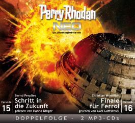 Perry Rhodan NEO, Schritt in die Zukunft - Finale für Ferrol, 3 MP3-CDs
